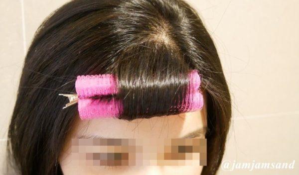 前髪 くるん カーラー 使い方