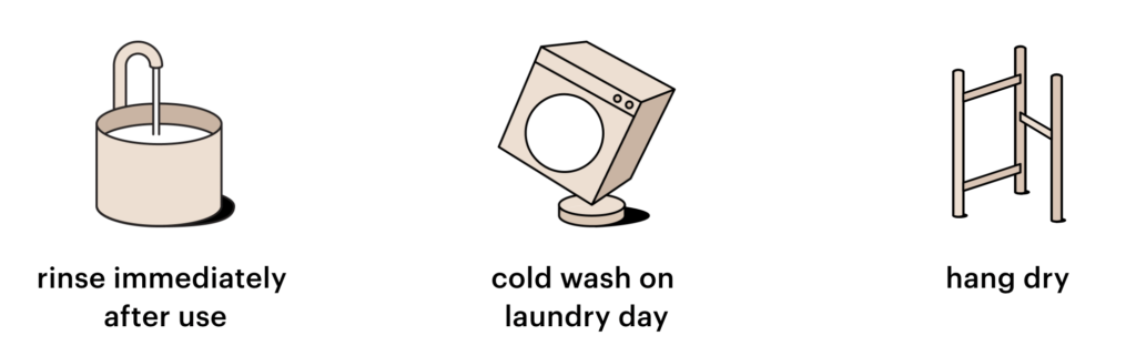 THINX 洗い方
