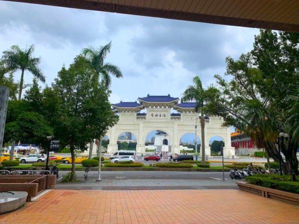 台湾 自由広場 図書館