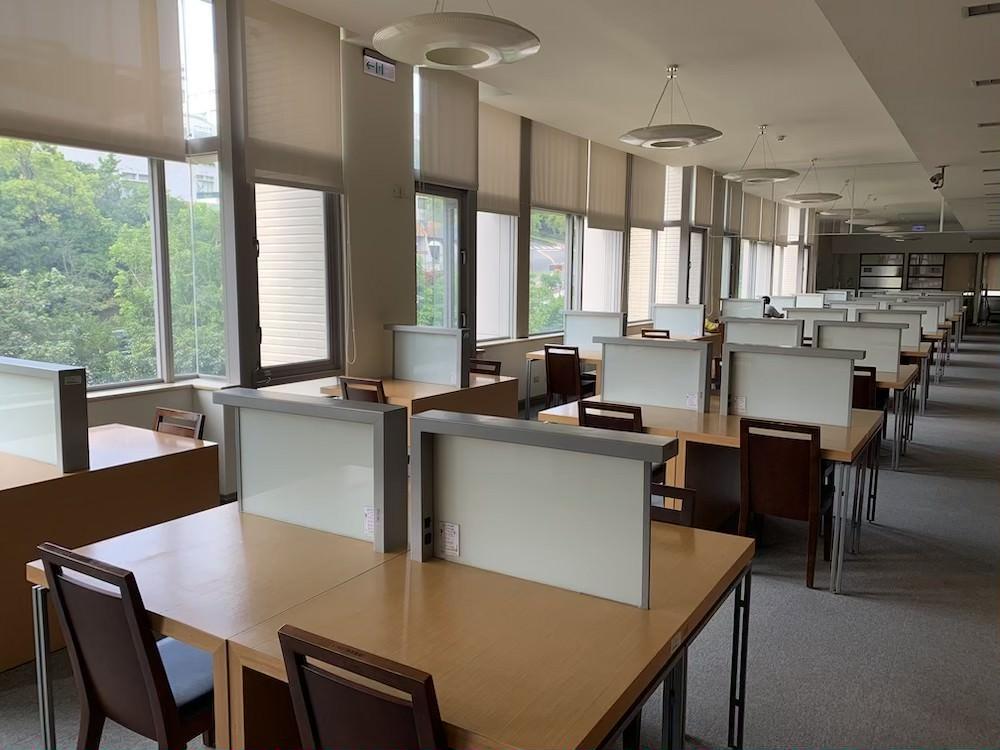 陽明大学 図書館 台湾 ノマド