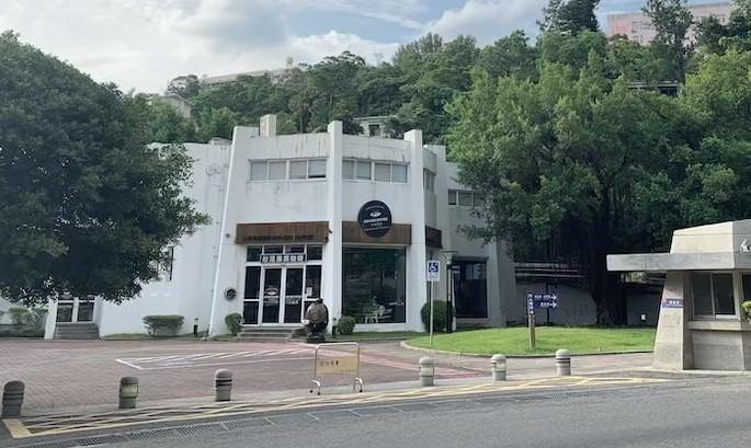 陽明大学 図書館 カフェ 台湾 ノマド