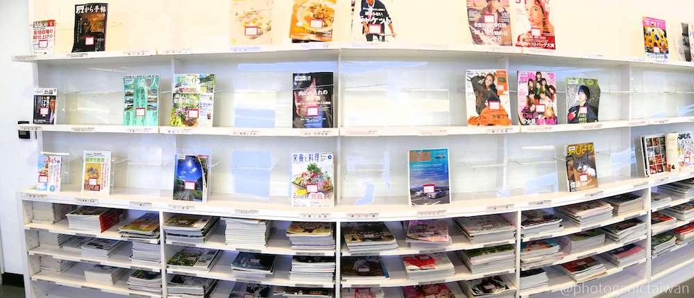 台湾 図書館 日本の雑誌