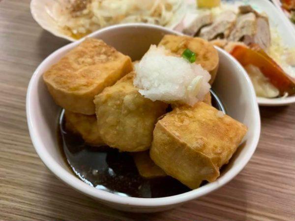 台南 グルメ 日本食 山根寿司 揚出し豆腐 ブログ