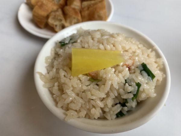 台南 食べ物 グルメ おすすめ サバヒー おかゆ 阿堂鹹粥 蝦仁飯
