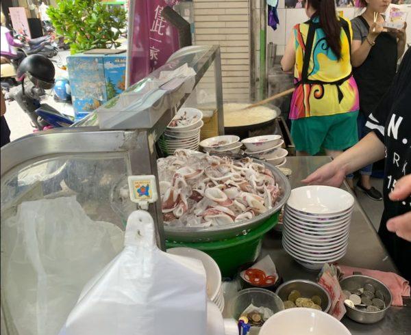 台南 食べ物 グルメ おすすめ イカビーフン