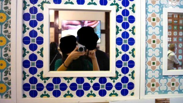 台湾 タイル 博物館 マジョリカタイル 嘉義 台灣花磚博物館