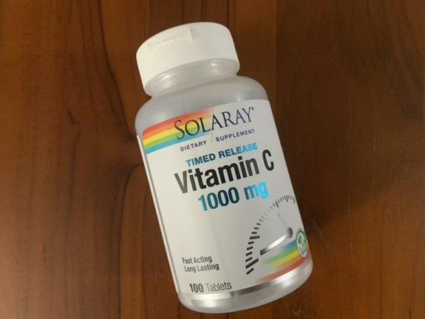買ってよかった2020 タイムリリース ビタミンC アイハーブ購入品